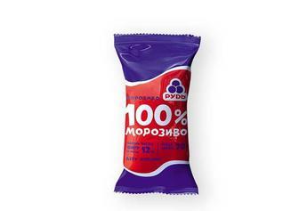 Морозиво 100% Рудь 70 г