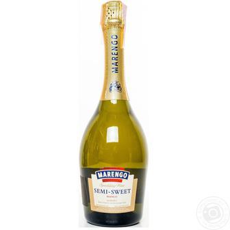 Вино игристое Маренго 13,5% белое, п/сл 0,75 л