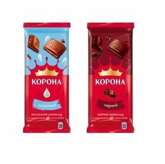 Шоколад пористий Корона 90г