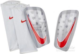 Щитки футбольні Nike NK MERC LT GRD р. S сірий