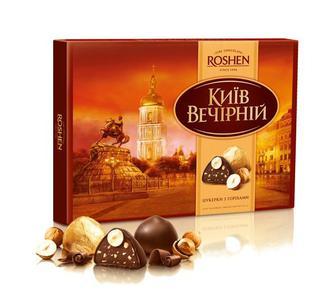 Цукерки Roshen Київ Вечірній, 176 г