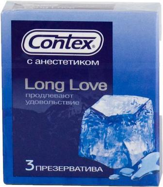 Презервативи Contex Long Love уп/3шт