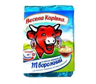 Сир плавлений Весела Корівка, 90 г