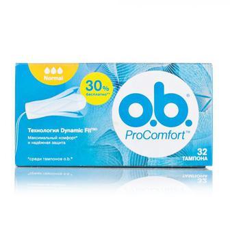 Тампоны O.b. pro comfort нормал, 32шт