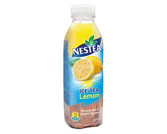 Чай холодний Nestea чорний зі смаком лимона, 0,5л