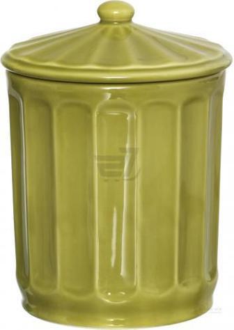 Ємність для сипучих Cotele 12,5 см салатова Matceramica