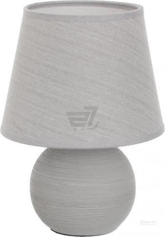 Настільна лампа декоративна Accento lighting 1x40 Вт E14 сірий ALT-T-DH2121S G
