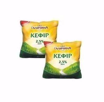 Кефір 2,5% Галичина 400 г