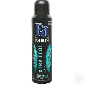 Дезодоранты торговой марки Fa men