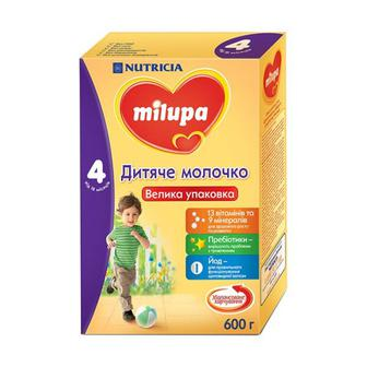 Сухая молочная смесь Милупа