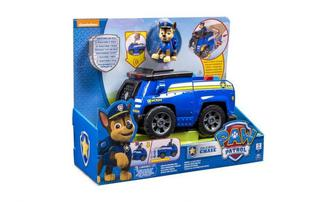 Машинка Spin Master Щенячий патруль Спасательный автомобиль - трансформер с фигуркой Гонщика