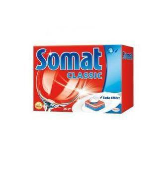 Таблетки для посудомоющих машин Somat Классик, 30шт
