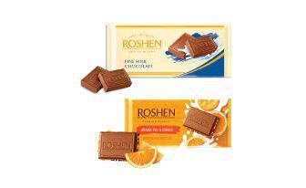 Шоколад Молочний, екстрамолочний Рошен