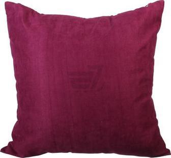 Подушка декоративна Велмарт 45x45 см вишневий