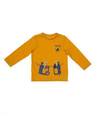 Гірчична футболка майстра від Mothercare