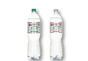 Вода природна столова, негазована/ слабогазована «Buvette» - 1,5 л
