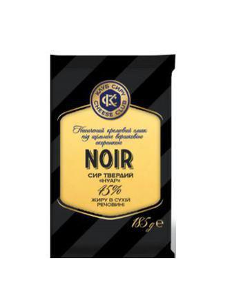 Сир Noir 45% Клуб сиру 185 г