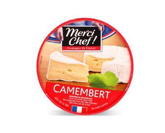 Сир Merci Chef! «Камамбер» 60% жиру, 125г