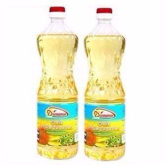Олія соняшникова рафінована Достаток 1 л