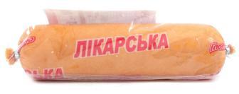 Ковбаса Лікарська в/г білк Глобіно, кг