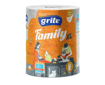 Рушники паперові Grite Family XL, 1 рулон/уп
