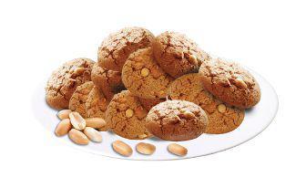 Печиво вівсяне з арахісом Хлібодар 100 г