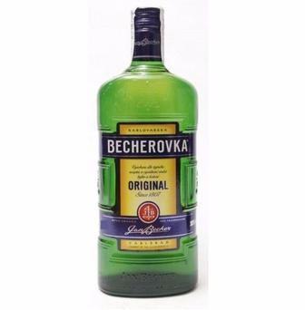 Настойка ликерная на травах 38% Becherovka 0,7