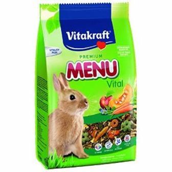 Корм для кроликів Menu, 1кг Vitakraft