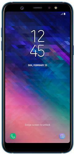 Смартфон Samsung Galaxy A6 Plus blue