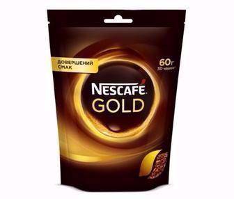Кава розчинна Nescafe Gold 60г