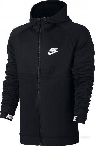 Джемпер Nike M NSW AV15 HOODIE FZ FLC 861742-010 р. M чорний