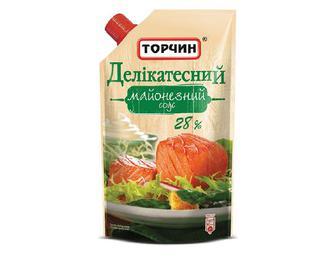 Майонезний соус Делікатесний, 28% жиру, Торчин, 300 г