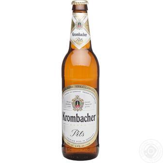 Пиво Krombacher 0,5л
