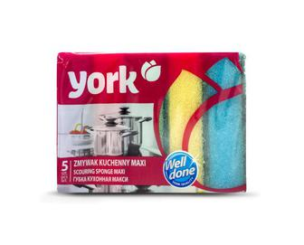 Губки кухонні York MAXI 5 шт./уп