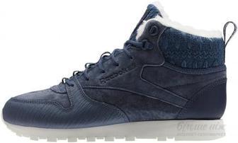 Кросівки Reebok Classic Leather Arctic Boot BS6275 р. 7 синій