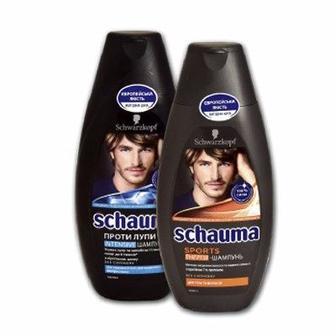 Шампунь для волос 380/400мл SCHAUMA