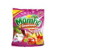 Цукерки жувальні фрукти та йогурт, Mamba, 72г
