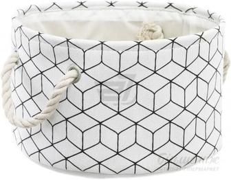 Кошик Evergreat Геометрія Круг 30х20х18 см EG951118WS