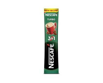 Напій кавовий розчинний Nescafe 3 в 1 Turbo, 13г