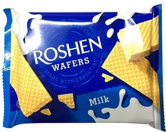 Вафлі Roshen Wafers молоко 72 г