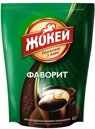 Кава Жокей Фаворит розчинна 65г