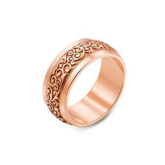 Обручальное кольцо с алмазной гранью. Артикул 10128/3