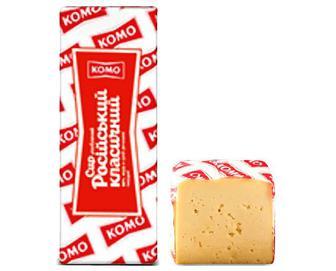 Сир «КОМО» «Російський» 50%, кг