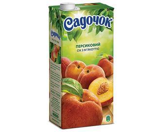 Сік «Садочок» персиковий, 0,95л