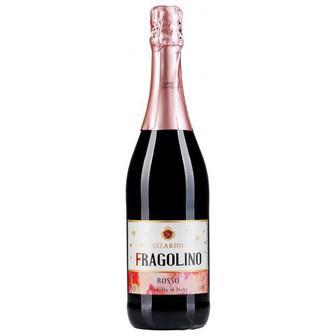 Вино Ігристе Фраголіно россо, бьянко Сізаріні 0,75 мл