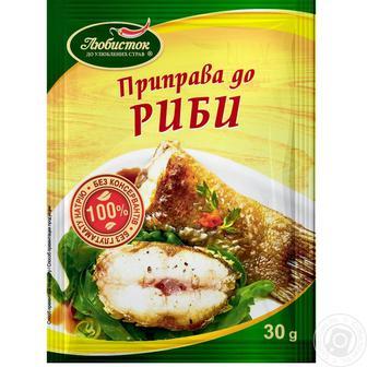 Приправа до риби Любисток 30г