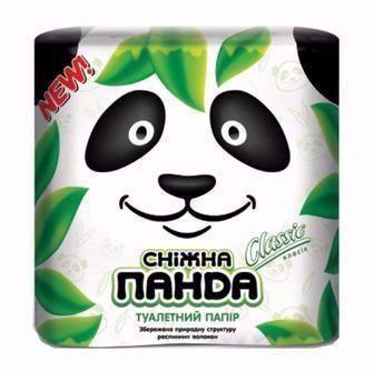 Туалетная бумага Сніжна Панда 4  шт