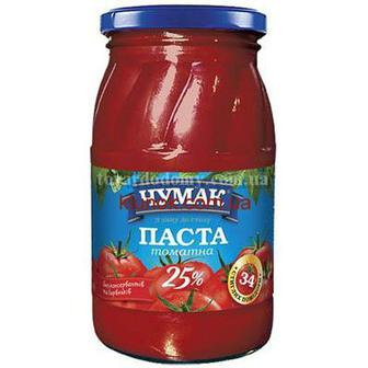 Паста томатна Чумак 450г