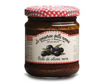 Паштет з чорних маслин, Della Nonna, 190 г
