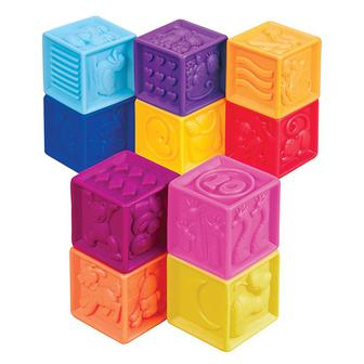 Развивающие силиконовые кубики Посчитай-ка! 10 кубиков
